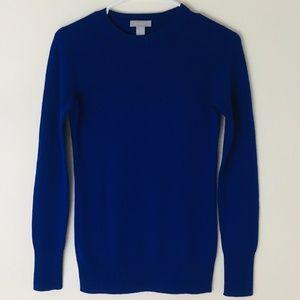 Hayden 100% Cashmere Blue Pullover Sweater XS